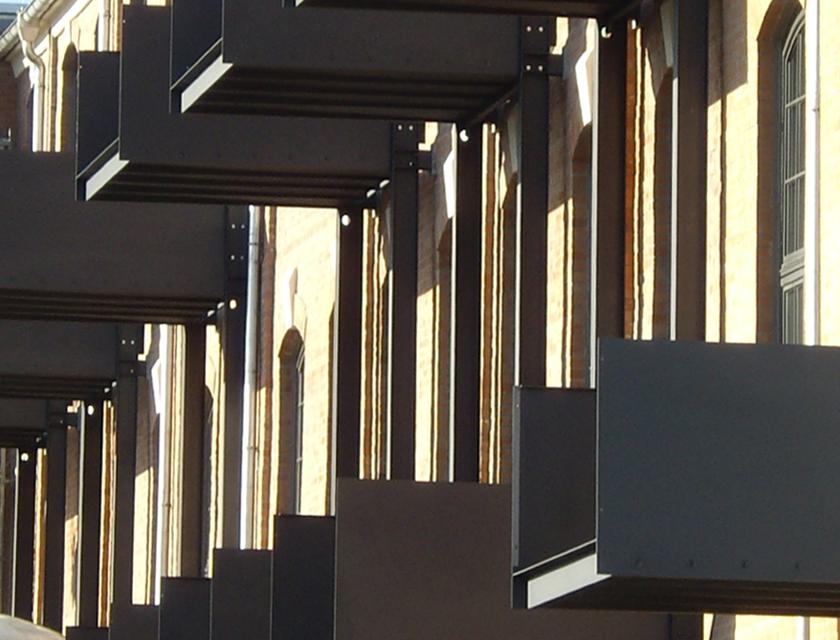 Spinnerei-Balkone