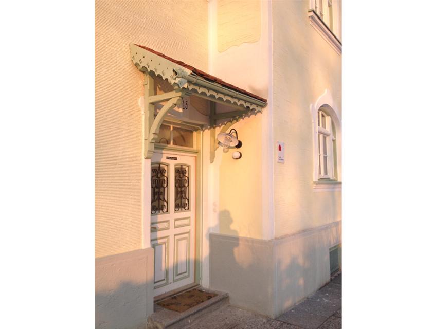 Villa-Eingang